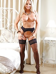 milfs wearing stockings and garters